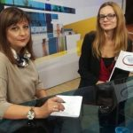 Vesna and journalist